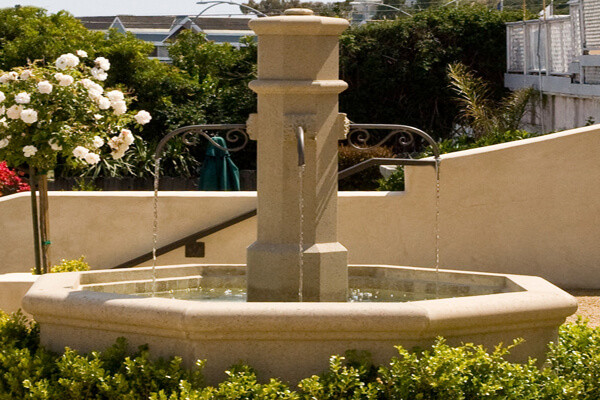 Precast Concrete Fountain